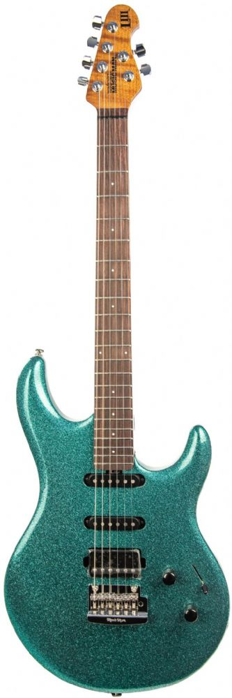 Music Man Luke 3 HSS Guitar in Ocean Sparkle